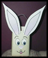 Easter Bunny Milk Carton Container Craft for Kids