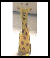 Giraffe Pencil Holder for Dad