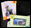 Springtime Memory Photo Frames Crafts Project