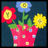 Flowers in a Vase Mother's Day Card Craft for Children