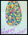 Egg Shell Mosaic Card Crafts Project for Kids