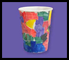 Magical Mosaics Cup Crafts Project for Kids