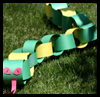 Paper Chain Snake Crafts Idea for Kids