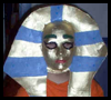 Egyptian Pharaoh Masks Passover Craft for Children