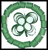 Saint Patrick's Day Wreath Craft for Kids