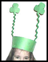 Shamrock Crown Craft for Kids