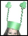 Shamrock Crown Craft for Kids