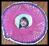 Spirograph Paper Plate Picture Frame Arts and Crafts Project