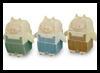 3 Little Pigs : Printable Three Little Pigs Toy Models