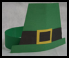 Paper Leprechaun Hat Craft