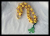 Paper Chain Shamrock Necklace Craft for Children