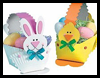 Paper Plate Easter Baskets Arts and Crafts Ideas