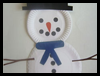 Paper Plate Snowman Winter Arts & Crafts Idea for Children