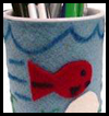 Seascape Pencil Holder Father's Day Gift Craft