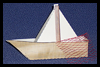 Children's Bible lesson boat for Jesus Stories, the disciples and Paul's Missionary journey's ship