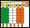 Pony Bead Irish Flag Pin Craft