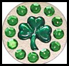 Shamrock Pin Gems & Sequins Craft for Kids