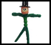 Pipe Cleaner Leprechauns Craft for Kids