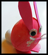 Polystyrene Egg Bunny Easter Craft Activity for Kids