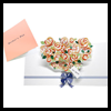 Pop-up Mother's Day Card (Bouquet) Paper Folding Printout Craft
