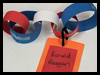 Presidential Timeline Paper Chain Craft for Kids