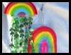 Rainbow Mobiles Craft for Saint Patricks Day