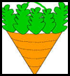 Cone Shaped Carrot Easter Basket Craft for Kids
