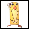 Chick Toilet Paper Roll Craft Easter Activity for Kids