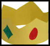 Paper Crown Purim Craft for Kids