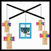 Easter Mobile with Christian Message Crafts Activity