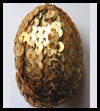 Sequin Egg Easter Arts & Crafts Project Ideas