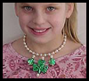 Shamrock Necklace Craft for Children