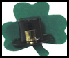Shamrock Pin St. Patrick's Day Craft for Kids