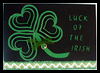 Shamrock Greeting Card Craft