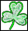 Shamrock Painting Craft for Kids