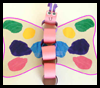 Paper Chain Butterfly Crafts Project for Kids