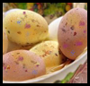 Speckled Easter Eggs Craft Idea for Kids