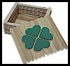 Shamrock Trinket Box Craft for Saint Patty's Day