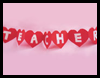 String of Hearts Paper Chain Craft