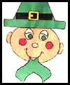 Easy Leprechaun Craft for St. Patrick's Day