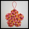 Tissue Paper Flower Mother's Day Crafts Activity