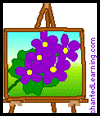 Twig Easel Craft for Kids