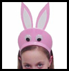 Bunny Hat Craft for Easter