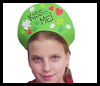 """Kiss Me"" Crowns St. Patrick's Day Visors Craft"
