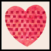 Woven Valentine Heart Crafts Activity