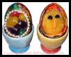 Decoupage Surprise Window Eggs Craft
