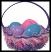 Woven Easter Basket Arts and Crafts Project