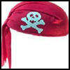 How to Make a Pirate Hat From a Bandanna