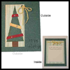 Eyelet Christmas Tree Card : Making Christmas Cards Craft for Children