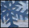Giant Snowflake Card : Making Christmas Cards Craft for Children